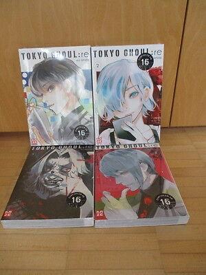 Tokyo Ghoul : re 1 + 2 + 3 + 4  Kaze - deutsch- Neu