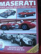 MASERATI SPORTS RACING CARS AND OTHER PRODUCTS c1926-1992 Dianella Stirling Area Preview