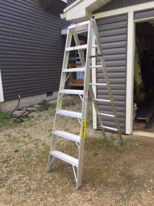 7 ft  3-way extension ladder