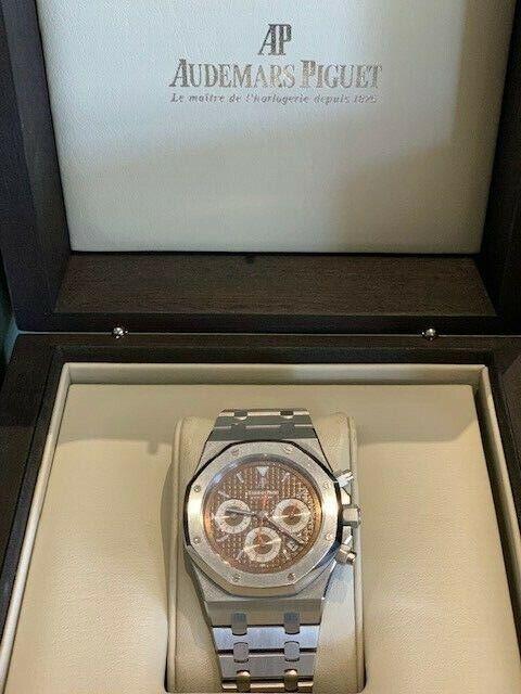 Audemars Piguet Royal Oak Chronograph Havana brown 26300ST.OO.1110ST.08 - watch picture 1