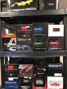 Various Diecast Models for sale Autoart Minichamps Exoto