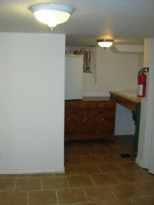 Bright clean basement bachelor apt. in beautiful century home