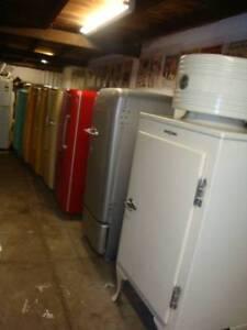 Antique fridge centre