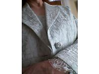 Pale Green size 14 Mother of the Bride/Groom outfit, dress and jacket, by Michel Ambers