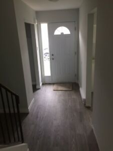 Freshly updated 4 bedroom townhouse with yard