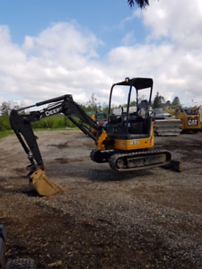 John Deere 27D Mini Excavator,