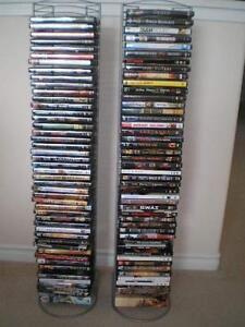 2 DVD Towers