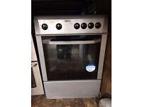 £96.00 Beko Grey ceramic electric cooker+60cm+3 months warranty for £96.00