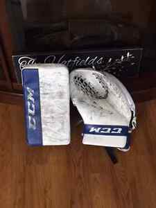Goalie Blocker and Glove