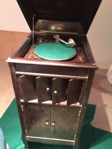 Antique Grafanola Record Player