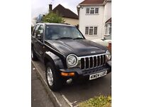 2004 Jeep Cherokee 3.7 V6 Limited Station Wagon Auto 4X4 5dr