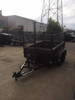 Brand New Winch $3600 or HydraulicTipping $5600 Box Trailers
