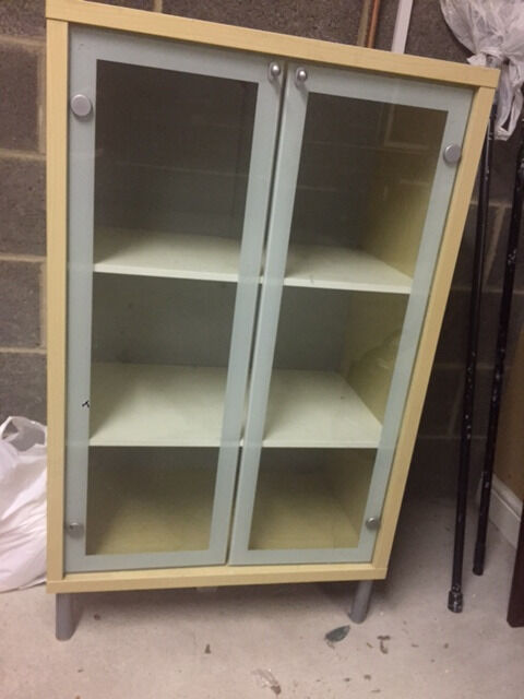 IKEA Display Cabinetin Mirfield, West YorkshireGumtree - IKEA Glass display cabinet. Was used to store Sky box, DVD player and DVDs, however can be used for various. In good condition and open to sensible offers