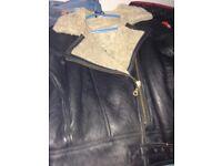 Aviators jacket TEODEM sheepskin SIZE SMALL