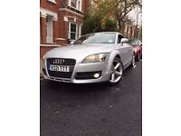 AUDI TT TDI 2.0 QUATTRO, WARRANTY, 12 MONTHS MOT, PRIVATE PLATE INCLUDED