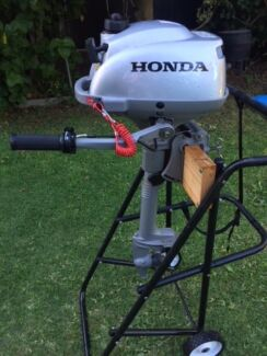 Honda 2.3 Outboard Motor - AS NEW