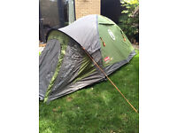 Darwin 2 Plus tent - nearly new only used once!