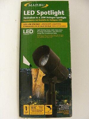 Malibu 6 of LED Throw-9W 20W Halogen Equiv Low Voltage landscape lighting