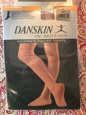 03444c0b4 Danskin in Motion Women s Footed Tights Adult DuraSoft Nylon Microfiber A B  C D