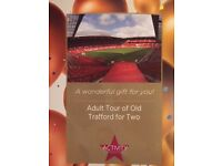 Adult Tour of Old Trafford for Two