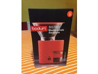 Bodum Bistro Electric Coffee Grinder - Red
