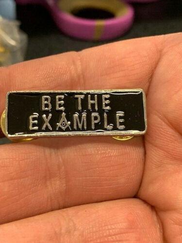 Be the Example Masonic Pin - Mason