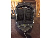 Out n About double buggy - excellent condition