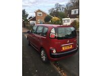 Citroen c3 Picasso VTR+ HDI in red 69000 miles beautiful condition, only selling due to ill health