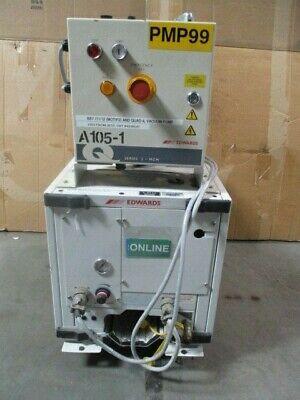 BOC Edwards QDP40 Dry Mechanical Vacuum Pump w/ Q Series 2- MCM Controller, LAM