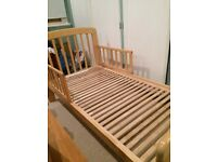 John Lewis Anna toddler bed in immaculate condition