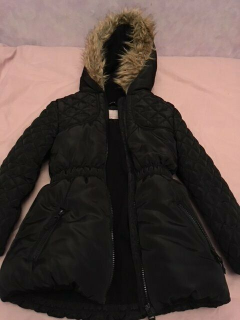 ad113fec2e0ff Girl's Black Winter Coat (George Asda) | in Dundee | Gumtree