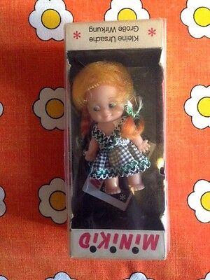 Rarität Schildkröt Minikid Lollo Original Verpackung  Vintage 60er Jahre Puppe