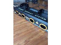 Quad lex 350 laser light