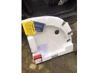 Brand new 800 Quadrant Shower tray