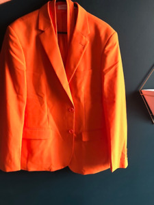 Orange Oppo Suit Jacket EU52 / UK42 / US42