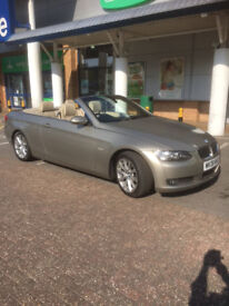 2008 BMW 3 SERIES 2.0 CONVERTIBLE, PETROL, MANUAL WITH FULL SERVICE HISTORY