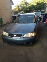2002 Nissan Sentra BLUE Other