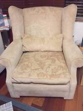 One seater, comfy, neutral colour armchair Randwick Eastern Suburbs Preview