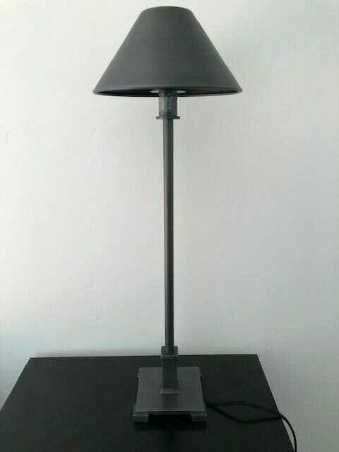 Candle Stick Table Lamps, Brand: Restoration Hardware, Color: Bronze,Cloth Cord