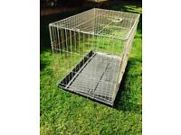 Fold Flat Dog Carrier/Cage