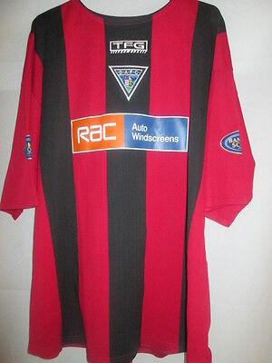 Dunfermline Athletic 2004-2005 Away Football Shirt Size Extra Large /20759 image