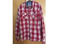 Superdry Men's Checked Shirt - XL