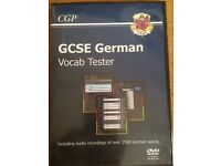 GCSE German vocab tester DVD and book