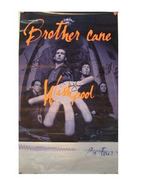 Brother Cane Poster Signed By Band