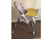 Mamas & Papas Highchair pesto multicoloured - Foldable