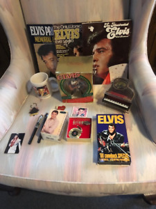 Elvis Memorabilia Collection purchased at Graceland in 1995