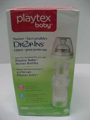 PLAYTEX BABY Nurser Sacs Jetables Liners 100 per Box Brand New Sealed
