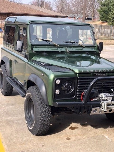 1985 Land Rover Defender  200 TDI engine LHD with front winch 2 Door Vin#SALLDVAB8FA392136