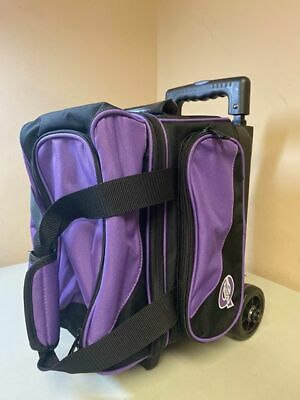 Used Ebonite Transport I Single Roller Bowling Bag, Purple