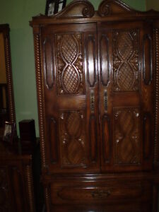 Armoire and bedroom set